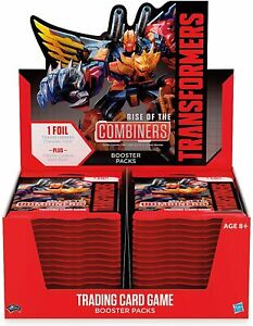 Transformers TCG: Rise of The Combiners Booster Box X 30 Packs X 8 Cards
