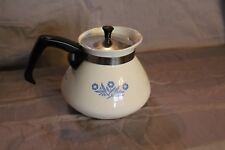 Vintage Corningware Coffee/Tea  Pot  Cornflower