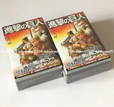 Attack on Titan Vol.23 Limited Edition Manga + Levi Scarf & Erwin Loop Tie Japan