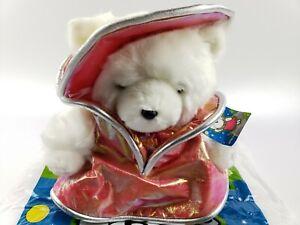 2001 DAYTON-HUDSON  MRS SANTA BEAR   MISSION PLANET CHRISTMAS & BAG
