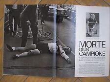 JEAN PIERRE MONSERE MORTE DI UN CAMPIONE CICLISMO CYCLISME EPOCA 1971