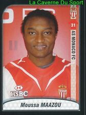 MOUSSA MAAZOU NIGER AS.MONACO Changchun Yatai.FC UPDATE STICKER FOOT 2010 PANINI