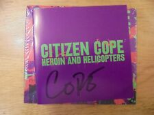 CITIZEN COPE SIGNED CD HEROIN & HELICOPTERS AUTOGRAPHED BY 2019 C GREENWOOD