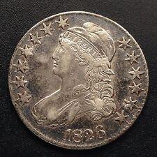 Estados unidos 1826 capped Bust half dólares 50 centavos filadelfia plata raramente 1842