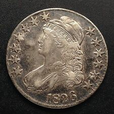 USA 1826 Capped Bust Half Dollar 50 Cent Philadelphia Silber Selten 1842