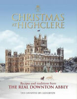 NEW Christmas at Highclere By The Countess of Carnarvon Hardcover Free Shipping