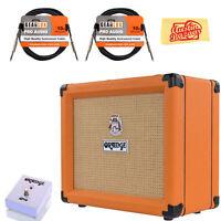 Orange Crush 20 Guitar Combo Amplifier w/ Orange FS-1 Footswitch