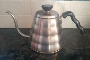 Hario Gooseneck Stainless Steel Buono Coffee Tea Kettle Made in Japan