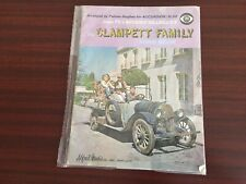 """Beverly Hillbillies Song Book """"The Clampett Family"""" 1960's"""
