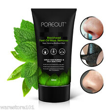 Purifying Blackhead Charcoal Face Mask Peel-Off Cleansing Black Remover 50ml UK