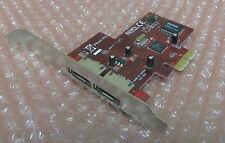 Silicon Image I102-00A Twin porta eSATA PCIe PCI Express Card Adattatore