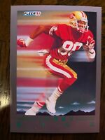 1991 Fleer Ultra Update Jerry Rice Pro Vision 49ers #99
