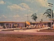 Postcard Gulf Terrace Apts., Point of Rocks, Siesta Key, FL.     X5