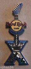 Hard Rock Cafe Surfers Paradise 10th. Anniversary Staff Pin. Ann*