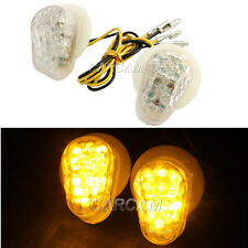 """1"""" LED Flush Mount Turn Signals Indicator For Yamaha YZF R1 98-13 FZ1S FAZER1000"""