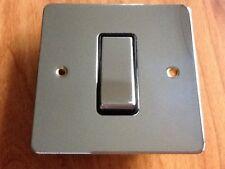 MK Edge K13471 POC 1G 20A Large Rocker Light Switch Polished Chrome Job Lot x 5