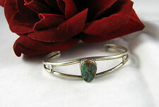 Sterling Silver & Turquoise South West Cuff Bracelet Cat Rescue