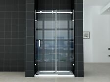 Frameless Wall to Wall Sliding Door with Base 8mm Glass 800X1200X1950