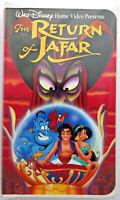 Aladdin II the Return of Jafar VHS video tape Disney Presents Home Video