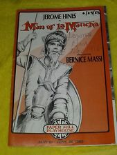 VINTAGE 1983 PAPER MILL PLAYHOUSE MAN OF LA MANCHA SIGNED BY JEROME HINES