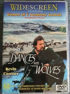Dances With Wolves (DVD, 2001) FREE POST