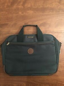 "Vintage 1989 Samsonite Ultralite Laptop & Travel Carrying Case 18""/ 14"" (Green)"