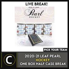 2020-21 LEAF PEARL хоккей 1 коробка (половина чехол) перерыв #H1067 — выбирайте свою команду
