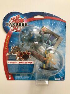 BAKUGAN - New Vestroia - Character Pack 3 - 1 Bakugan + Figur - NEU - OVP
