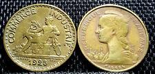 1923&1968 France(Francaise) 1 & 20 Francs coin 2pcs VF(+FREE 1 coin) #D3065