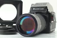 【N MINT】 Mamiya M645 PD Finder 120 Back Sekor C 210mm f/4 Lens Bellow from JAPAN