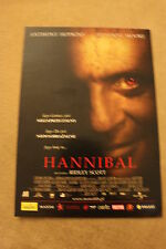 Hannibal (2001) Polish promo FLYER
