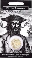 Pirates Treasure Coin Pack  -   Two Escudos Coin Of Phillip 11
