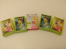 Disney Mini Card Games Lot 5 Party Favor Gifts Fairy Princess Cinderella