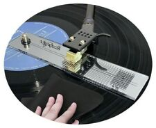 May Records DELUXE Mirrored Turntable Protractor Vinyl Calibration/Setup Tool