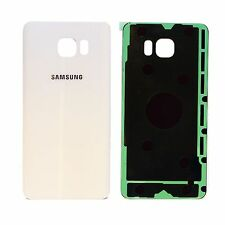Battery Cover Glass Back Door Replacement For Samsung Galaxy Note 5 N920 White