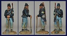 """ACW """"Union Army Cumberland's Pioneer Brigade, 1863"""" Painted by Jean Abell (54MM)"""