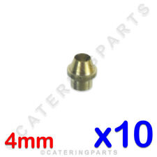 PACK 10 x OLIVES FOR 4mm SHORT FLAT INJECTORS GAS PIPE NAT LPG SIT 0.957.014