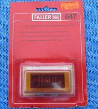 Faller AMS 647 Commutateur d'arrêt en emballage d'origine, non ouvert