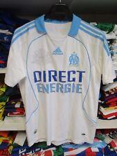 Maillot OLYMPIQUE de MARSEILLE OM Adidas football 2008/09 shirt maglia 14 ans