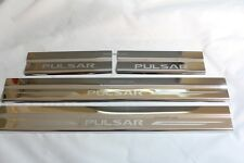 Fit For Nissan Pulsar 2012-2016 Hatchback Chrome Scuff Plate Side Door Cover