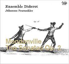 Mondonville: Trio Sonatas Opus 2, Ensemble Diderot; Johannes Prams CD | 37700041