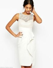 Lipsy Crew Neck Wiggle, Pencil Sleeveless Dresses for Women