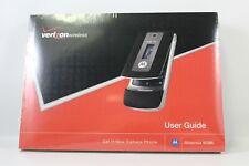 Verizon Wireless user guide manual Tips Hints Shortcuts Motorola W385 - NIP