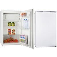 PKM Kühlschrank A+ freistehend 96 Liter weiß mit Gefrierfach NEU weiß LED leise