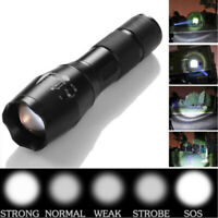 1200Lumens 5 Modes Zoomable LED 18650 Flashlight Torch Lamp Light USEFUL