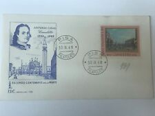 Italy #989 FDC cover 1968   (Folder4003)