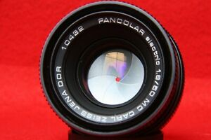 PANCOLAR 1.8/50 MC,Carl Zeiss,M42 mount,CLAD,USED