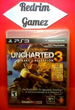 Uncharted 3 NEW PS3 Video Games
