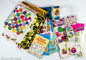Stickers Large Lot of Assorted Kid Themed Packs Sheets & Individual Stickers