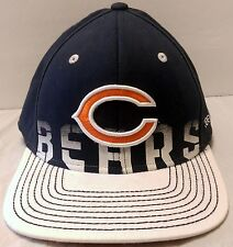 NWT Chicago Bears Onfield Reebok Hat Size L/XL White Bill Soldier Field Fitted
